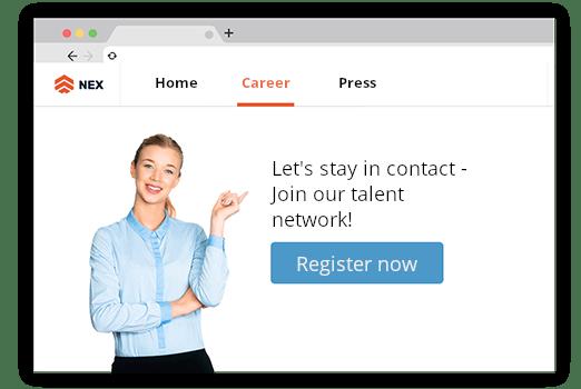Talent Network Invitation
