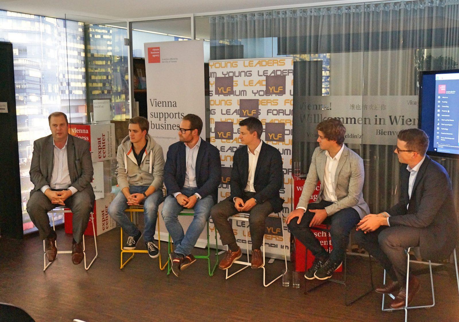 Experten beim HR Tech - YLF & Expat Center Wien
