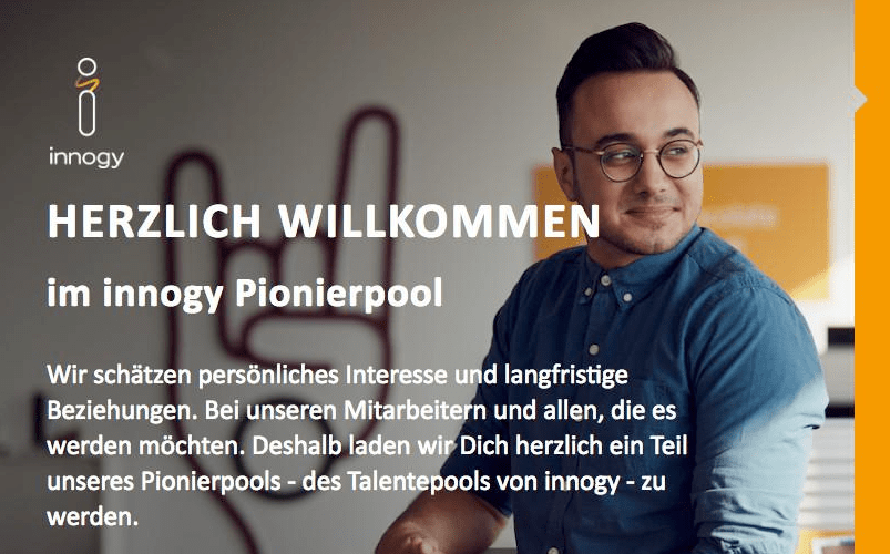 Showcase: Der innogy Talent Pool