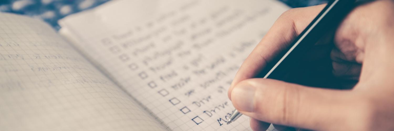 Checkliste Bannerbild